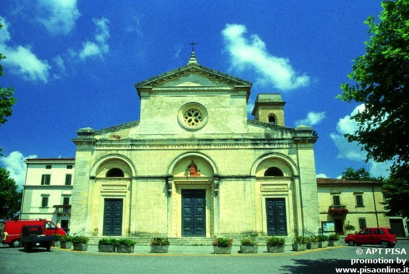 Church of San Lorenzo in Fauglia, Pisa